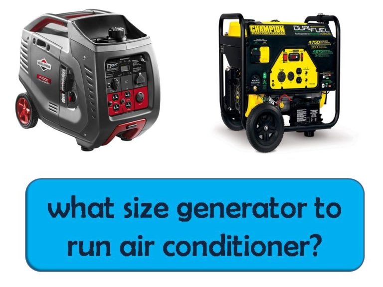 what-size-generator-to-run-air-conditioner
