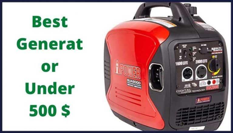best-generator-under-500
