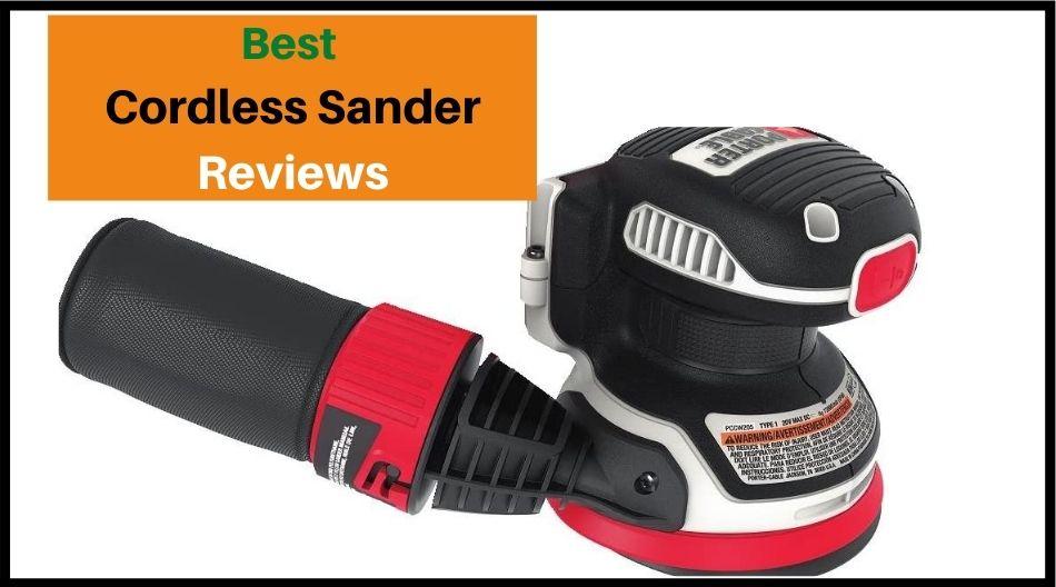 Best cord less Sander